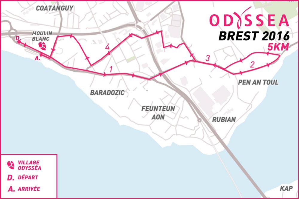 Odyssea-Parcours-brest - 2016-5km