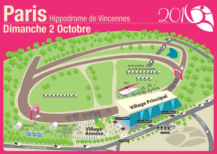 Odyssea - Course Paris - 2016 - Parcours 1 km