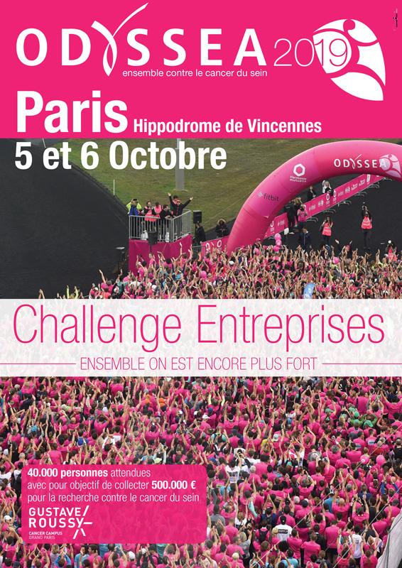 Course Odyssea - Paris 2019 - challenge entreprises - recto