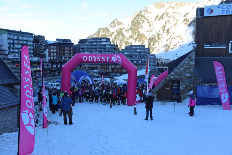 Odyssea - Photo Courses des neiges - La Mongie 1