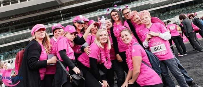 Odyssea - Le Challenge Entreprises - faites courir votre entreprise contre le cancer du sein - feat