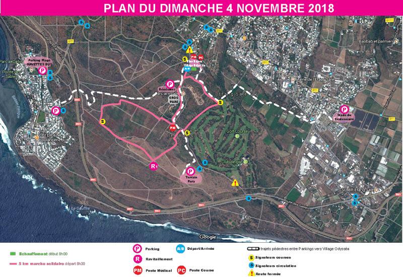 Odyssea - La Reunion 2018 - Parcours - Dimanche