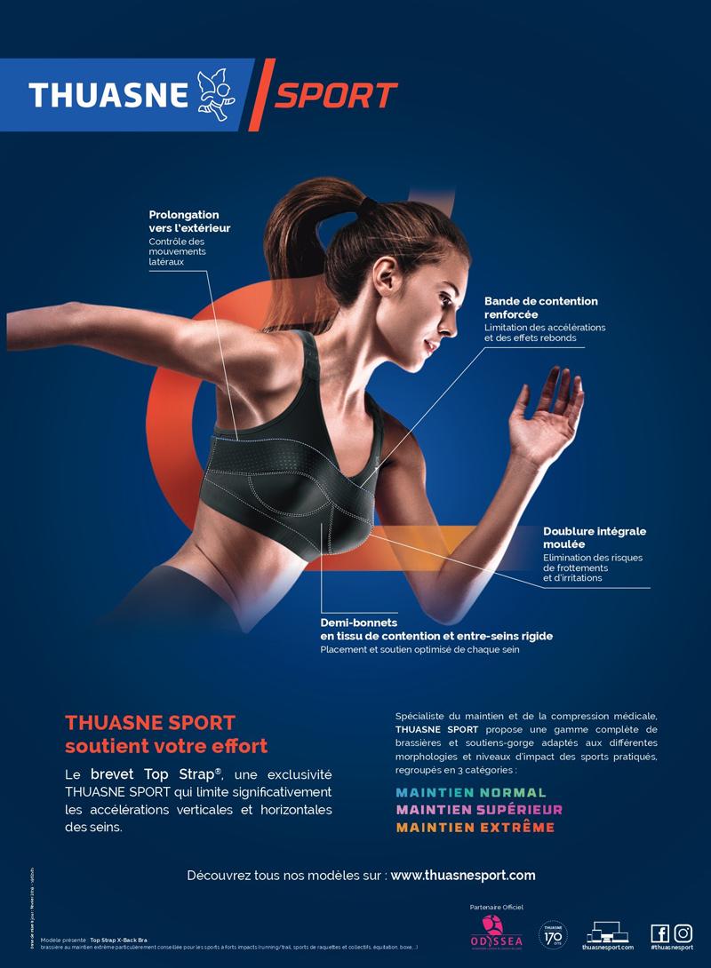 Comment choisir votre brassière de sport - Brevet Thuasne Sport