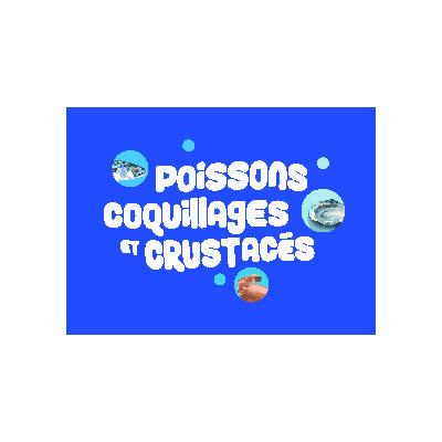 poissons coquillages et crustaces