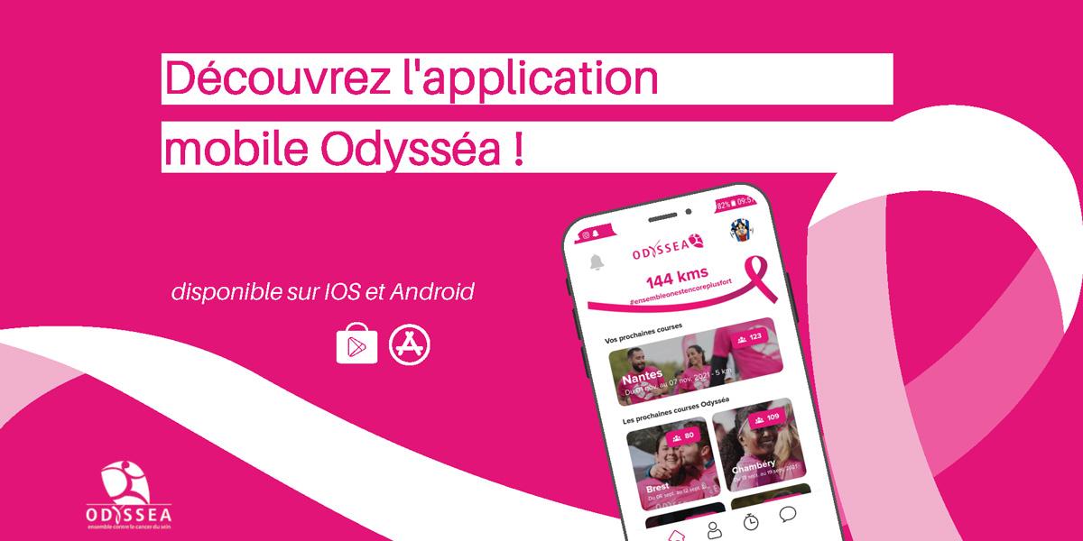Odyssea - Actu - application mobile - Feat